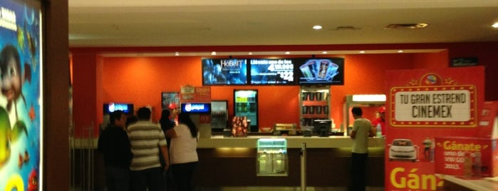 Cinemex is one of My fav places :).