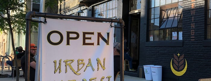 Urban Harvest Brewing Company is one of Milwaukee.