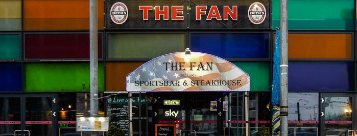 The Fan is one of Restaurants/Cafe´s mit WLAN.