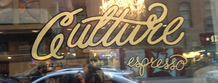 Culture Espresso is one of NYC.