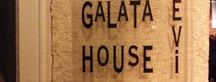 Galata Evi is one of İstanbul.
