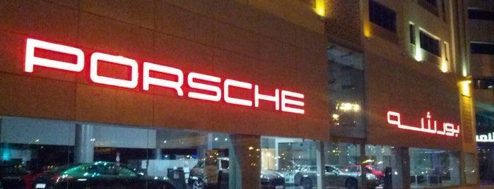 Porsche Showroom is one of Posti che sono piaciuti a Anaita.