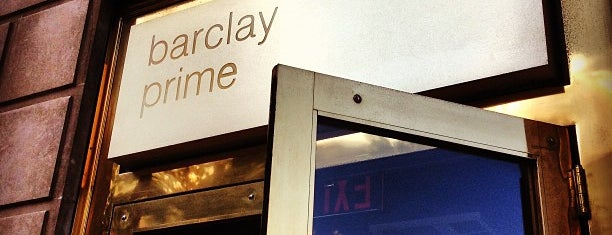 Barclay Prime is one of Restaurantes.