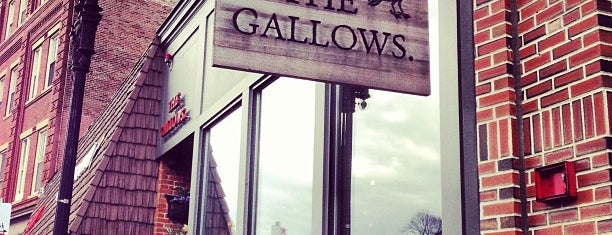 The Gallows is one of Tempat yang Disimpan Drew.