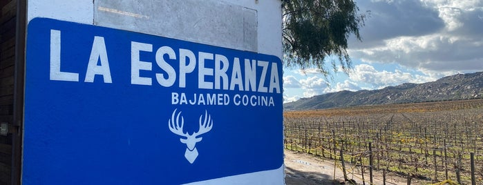 La Esperanza is one of Valle de Guadalupe / Ensenada Road Trip.