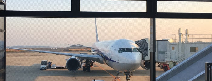 Okayama Momotaro Airport (OKJ) is one of Airport.
