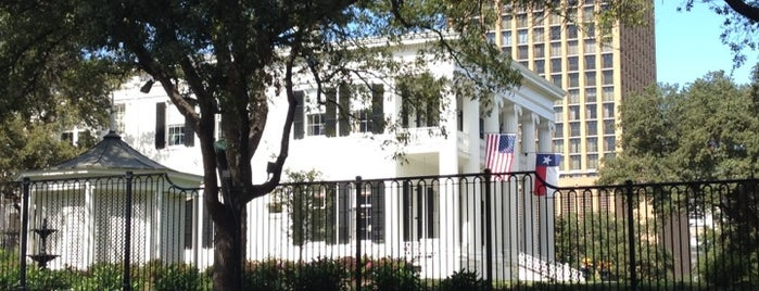 Texas Governor's Mansion is one of Austin possibilities.