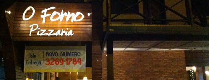 O Forno is one of สถานที่ที่ Luana ถูกใจ.