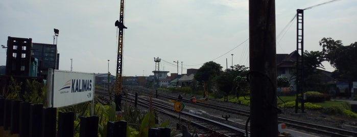 Stasiun Kalimas is one of Surabaya train station.