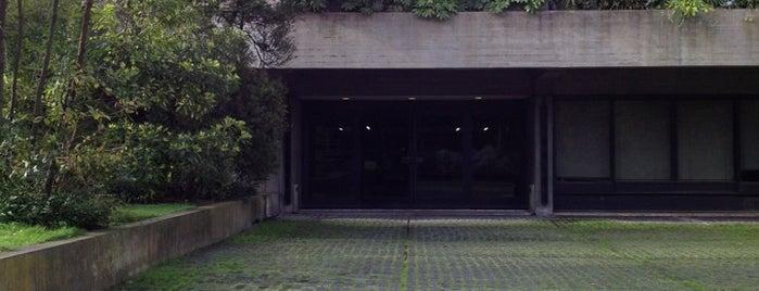 Biblioteca de Arte da Fundação Calouste Gulbenkian is one of toworkfrom.