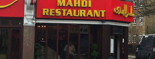 Mahdi Restaurant is one of Spring Famous London Story.