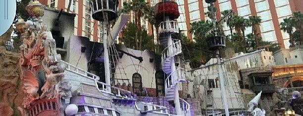 Treasure Island - TI Hotel & Casino is one of Fake Ships (fantasy replicas).