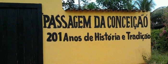 Passagem Da Conceicão is one of Tempat yang Disukai Joao Ricardo.