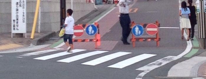 浜松市立西小学校前の坂道 is one of 登下校の道.