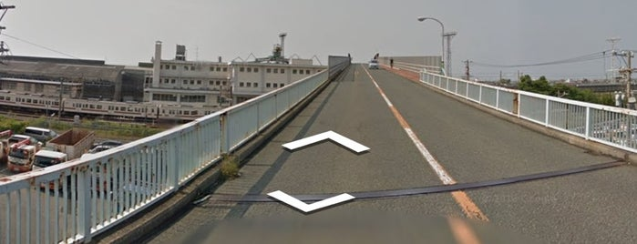 伊場跨線橋 is one of 登下校の道.