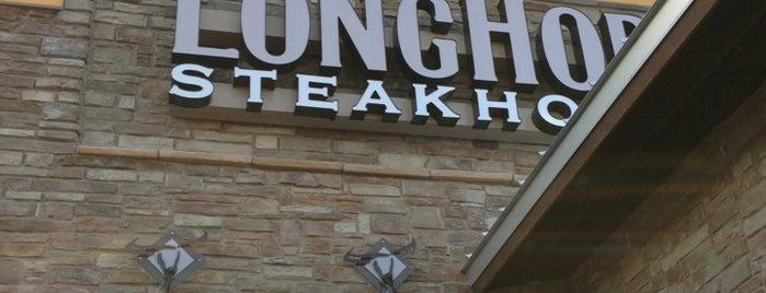 LongHorn Steakhouse is one of Orte, die Cel gefallen.