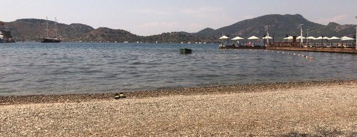 Müne Beach Bungalows 🌞 is one of marmaris havalisi.