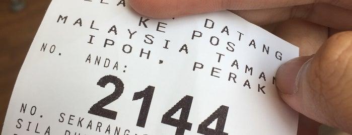 Pos Malaysia is one of Lugares favoritos de mzyenh.