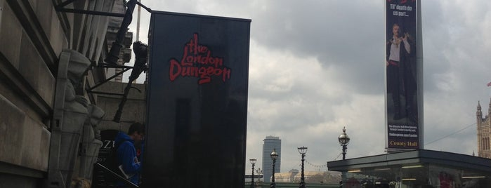 The London Dungeon is one of United Kingdom.