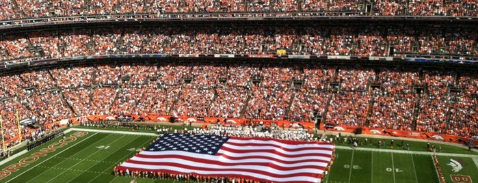Empower Field at Mile High is one of NFL Stadiums.