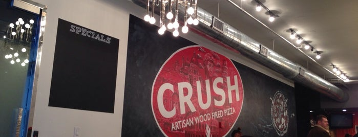 Crush Pizza is one of North End/Beacon Hill/Fort Point.