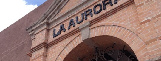 Fábrica de La Aurora is one of San Miguel de Allende.