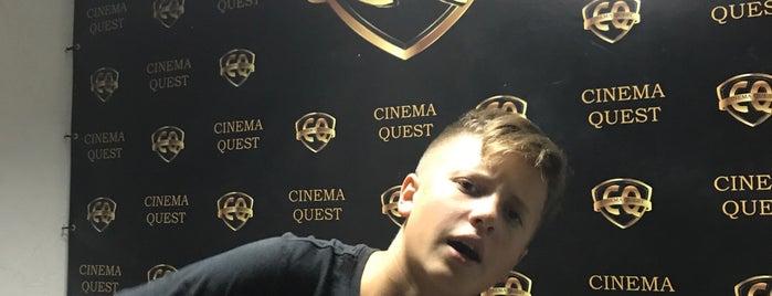 Cinema Quest is one of Tempat yang Disukai Hanna.