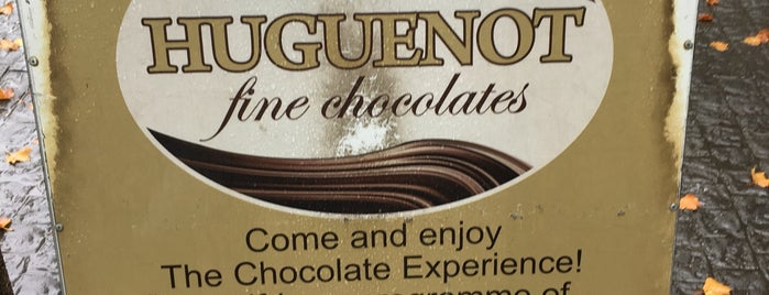 Huguenot Fine Chocolates is one of South Africa.