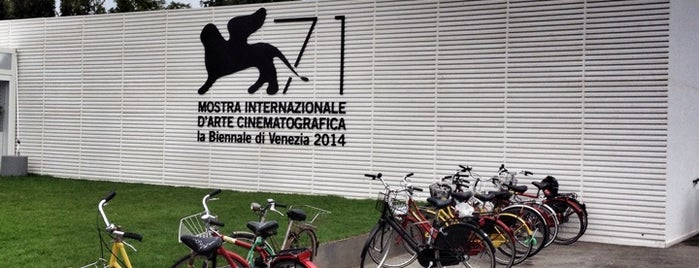 Mostra Internazionale  d'Arte Cinematografica is one of Lugares favoritos de Gaia.
