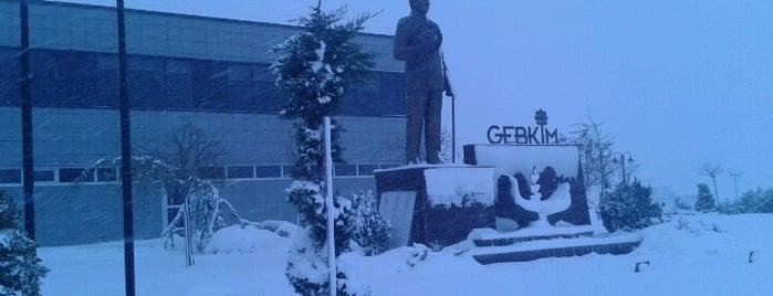 GEBKIM (Gebze Organize Kimya Sanayii) is one of Orte, die Murat gefallen.