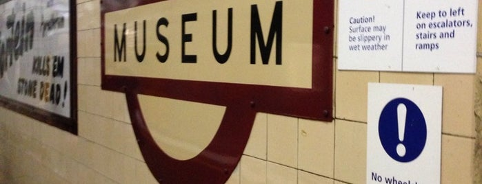 Museum Station is one of Sydney TO-DO list.