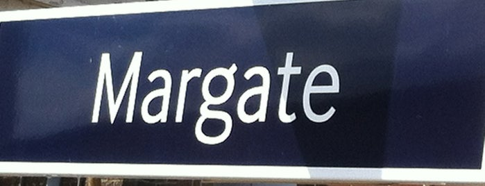 Margate Railway Station (MAR) is one of Margate.