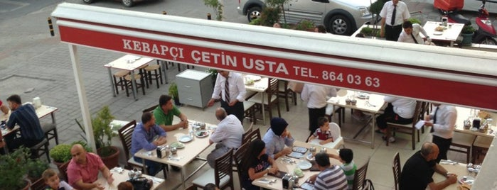 Kebapçı Çetin Usta is one of Lugares favoritos de Eymen.