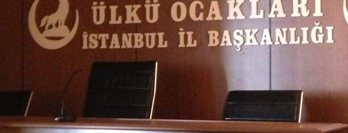 Ülkü Ocakları İstanbul İl Başkanlığı is one of Orte, die Gökhan gefallen.