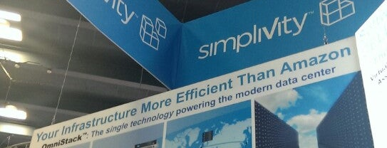 SimpliVity Booth #1023 VMWorld 2013 is one of SanFran VMworld.