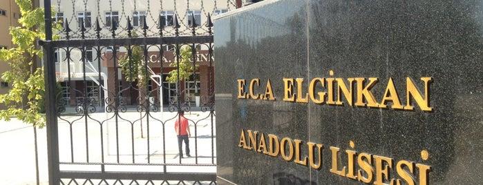 E.C.A. Elginkan Anadolu Lisesi is one of dilan kuaför salonu :).