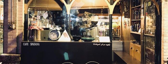 Spadana Café | قهوه سرای اسپادانا is one of Soheil'in Beğendiği Mekanlar.