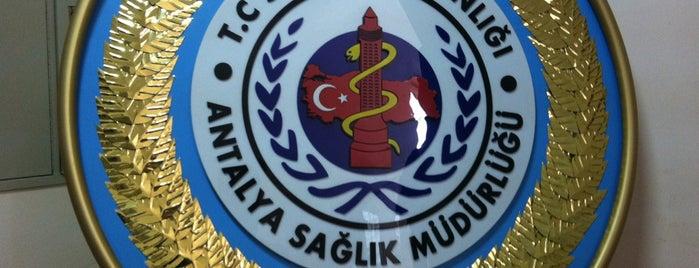 Antalya İl Sağlık Müdürlüğü is one of Orte, die MUTLU gefallen.