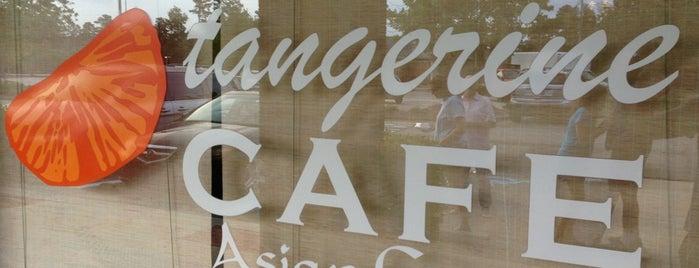 Tangerine Cafe is one of Veg Friendly Spots.