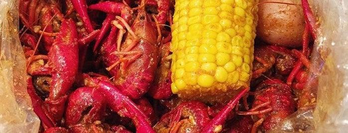 Hot N Juicy Crawfish is one of Restaurantes.