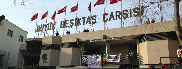 Büyük Beşiktaş Çarşısı is one of Tempat yang Disukai Sercan.