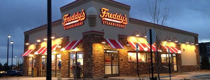 Freddy's Frozen Custard & Steakburger's is one of Locais salvos de DV.