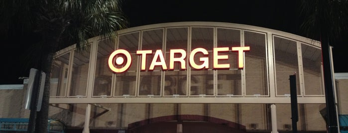 Target is one of Lieux qui ont plu à Cristiano.