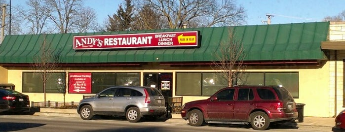 Andy's Family Restaurant is one of Been To.