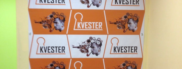 KVESTER is one of Locais curtidos por Тимур.