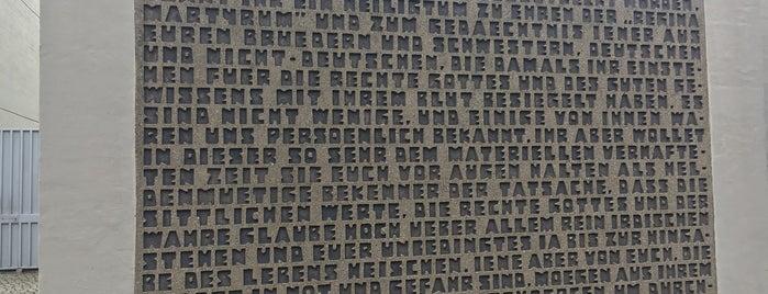 Gedenkkirche Maria Regina Martyrum is one of 1 | 111 Orte in Berlin die man gesehen haben muss.
