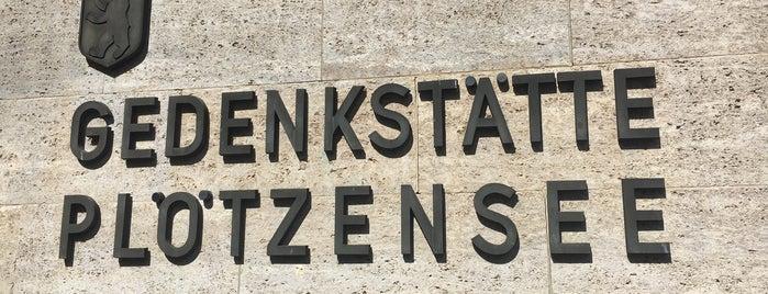 plotzenssee memorial is one of Testen: Ausflüge.