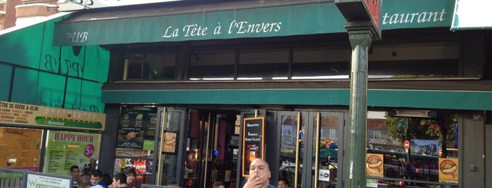 La Tête à L'Envers is one of Cocktail Spots.
