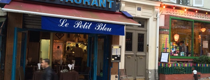 Le Petit Bleu is one of paris.