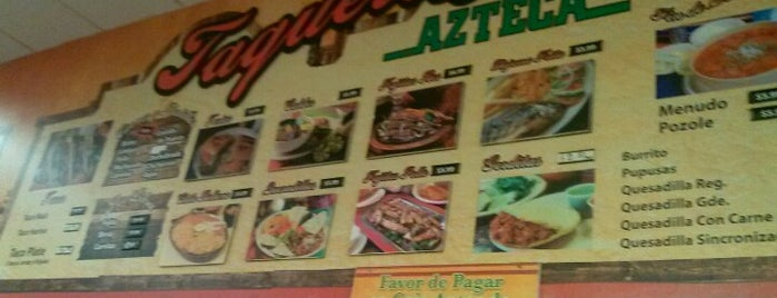 La Azteca is one of Tempat yang Disukai Stacy.
